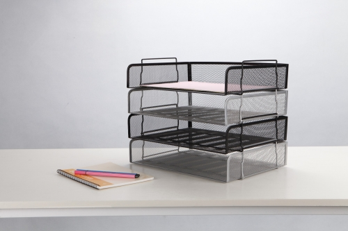 Stackable Letter Tray-Side Load